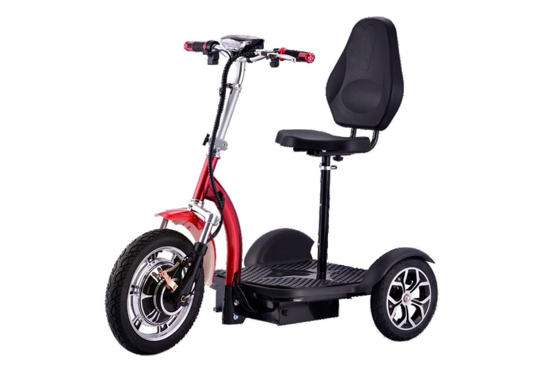 Triciclo eléctrico con silla o sin