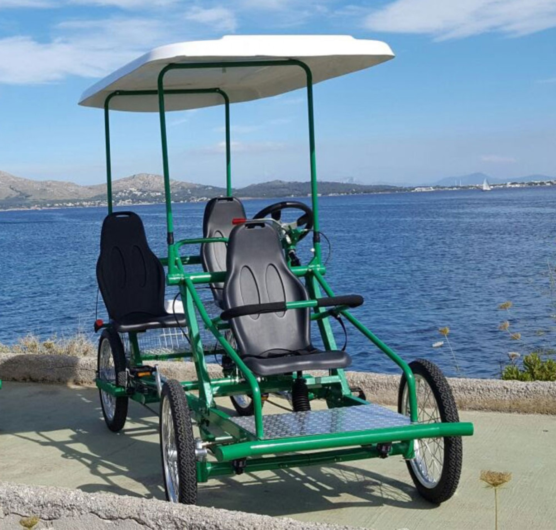 Pedal Car 3 asientos
