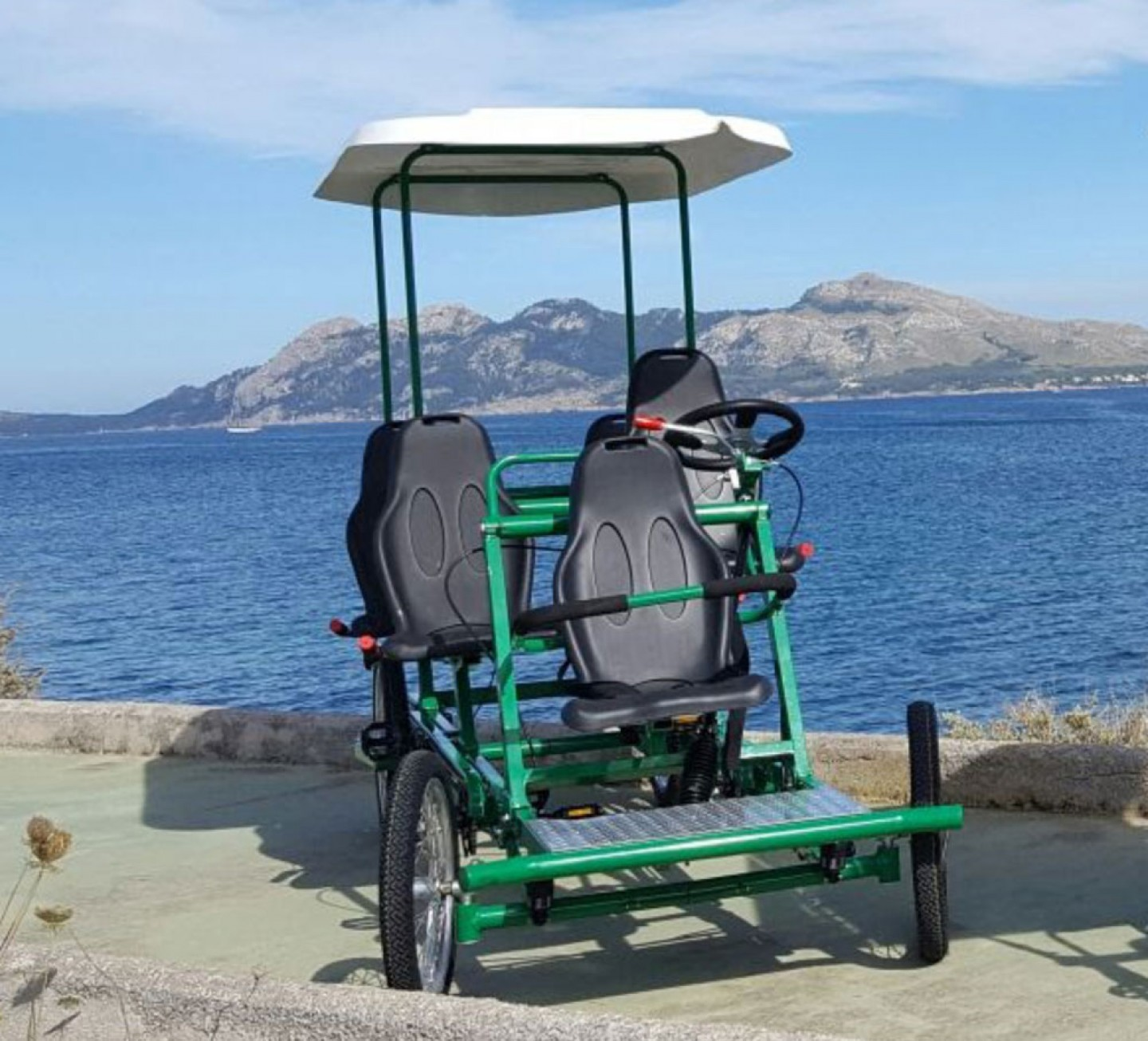 5 Seater Pedals Car